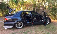Project Suicide Saab http://www.saabplanet.com/project-suicide-saab/ #Saab #Tuning