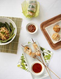 Thai Chicken Skewers | Anne's Kitchen