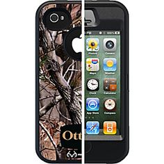 Otter Box Defender Series Case for iPhone 4/4S Camo Max/Blaze Orange/Black    #father'sday     http://www.ebags.com/product/otterbox/defender-series-case-for-iphone-44s/234148?productid=10190902=PINTEREST02