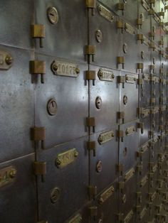 Old Mailboxes @City Museum St. Louis, MO via CLC Photography