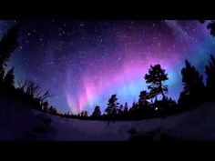 The Northern Lights - Time Lapse from Finland