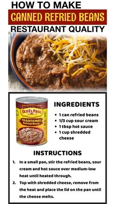 Mexican Dishes, Mexican Food Recipes, Mexican Meals, Dinner Recipes, Fish Batter Recipe, Canning Refried Beans, Cooking Tips, Cooking Recipes, Veggie Side Dishes