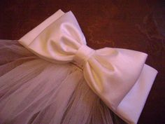 Excited to share the latest addition to my #etsy shop: Communion Bow Veil, Flower Girl Veil, Bridal Bow Veil First Communion Veils, First Holy Communion, Satin Bows, Ribbon Bows, Matte Satin, Fabric Bows, Hair Accessories, Silk, Bridal