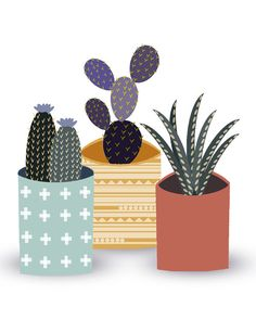 Cactus green❤︎ by Itsuka Hiraga on Etsy