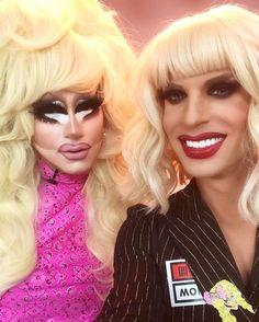 Trixie Mattel and Katya!!!