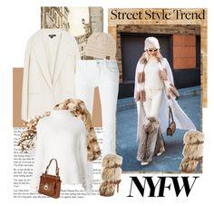 """Day Three: The Best NYFW Street Style"" by carola-corana ❤ liked on Polyvore featuring Élitis, Art Classics LTD, DKNY, Dolce&Gabbana, Badgley Mischka, Christian Louboutin, Haider Ackermann, 3Seven&8, women's clothing and women"