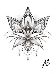 Tattoos - Mandala Dotwork Lotus Artwork by Adison Tattoos Tattoosquotes flowerTattoos Tattoosfonts watercolorTattoos Ale – Tattoos Leg Tattoos, Body Art Tattoos, Tattoo Drawings, Small Tattoos, Tattoo Sketches, Tatoos, Lotus Tattoo Design, Flower Tattoo Designs, Design Tattoos