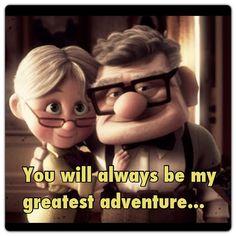Carl and Ellie <3 my favorite love story :)