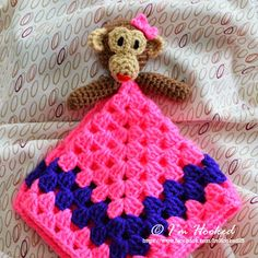 crochet lovey, free pattern for different animals