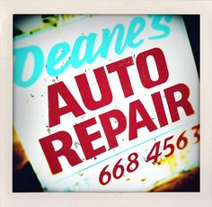 Deanes' gonna fix you up. 503-668-4563