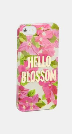 Nordstrom  kate spade new york 'hello blossom' iPhone 5 & 5s case