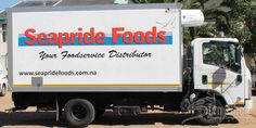 Vehicle branding done for Seapride Foods