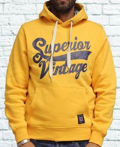 Felpa Superior Vintage - Abbigliamento da Castagna - Felpa Superior Vintage…