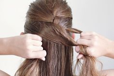I think I finally found a French Braid Tutorial I can understand - French Braid for Dummies - basic hair tutorial