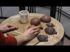Pottery: Ocarina Clay Whistle - YouTube