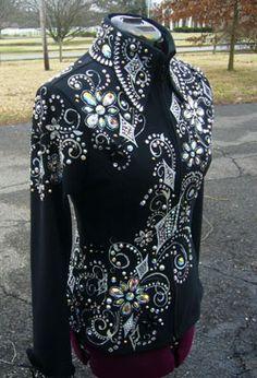 showmanship jacket | Tiina Volmer - Res. Congress Champion Tiina Volmer - Res. World ...