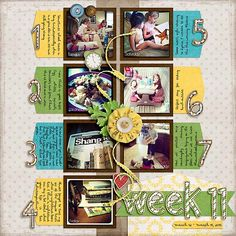 Scrapping with Liz: Week 11!
