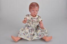 g2y60- Alte Schildkröt Puppe, Modell Käthe Kruse, 60er Jahre in Antiquitäten & Kunst, Antikspielzeug, Puppen & Zubehör   eBay!