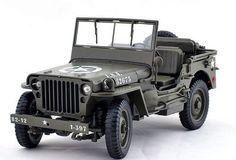 1/4 Ton US Willys Army Jeep Top Down 1/18 by Welly 18036 Willys Jeep http://www.amazon.com/dp/B009VI9MXI/ref=cm_sw_r_pi_dp_HjP0ub13SM0G3