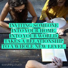 """When mentoring inviting someone into your home into your world takes a relationship to a whole new level.  Living life authentically in community is what many people especially millennials are looking for to grow them. They want to see that what we are saying is not just words but lived out in front of them. //@lynnettelynn from #southwestchurch in Indian Wells CA.  _ To read the rest of the article """"seven things great mentors do to impact lives"""" go to our website _  #everythingchurch…"""