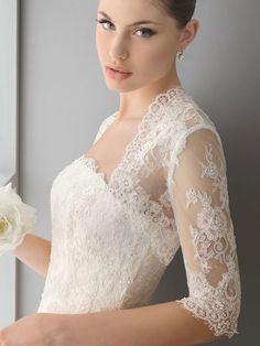 Pizzo. Vestiti donna, abiti da sposa