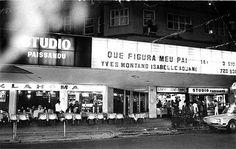 Mão de Vaca: É do seu tempo?   Cine Paissandu. 1982. Veja o restaurante Oklahoma nos tempos em que era bom.