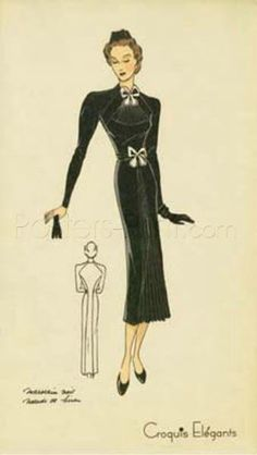 Ladies Fashion II Art Print Poster by Unknown Online On Sale at Wall Art Store – Posters-Print.com