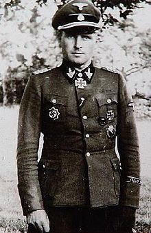 Theodor Wisch Theodor Peter Johann Wisch (13 December 1907 – 11 January 1995) was a German Waffen-SS general and a member of the Nazi Party of Nazi Germany. He was a commander of 1. SS-Panzer-Division Leibstandarte SS Adolf Hitler (LSSAH) during World War II. He held the rank of SS-Brigadeführer und Generalmajor der Waffen-SS and was awarded the Ritterkreuz des Eisernen Kreuzes mit Eichenlaub und Schwertern. After having been badly wounded in combat by naval artillery in the Falaise Pocket…