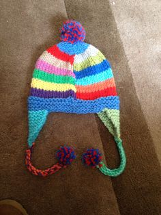 Matching hat for funky jumper