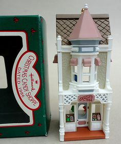 Hallmark Keepsake 1986 Candy Shoppe  ornament