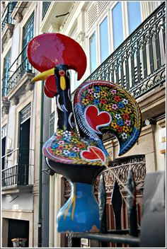 "Galo de Barcelos....The Rooster of Barcelos (Portuguese, ""Galo de Barcelos"")"