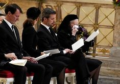 Danish royal family attend the private funeral of Prince Henrik, The Prince Consort Feb. Queen Husband, Danish Prince, Royal Families Of Europe, Queen Margrethe Ii, Danish Royalty, Crown Princess Mary, Queen Crown, Danish Royal Family, Funeral