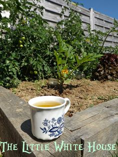 Tea in the Potager - The Little White House On The Seaside: My Beautiful Laundry Rooms