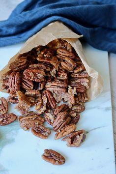 CANDIED COCONUT & CINNAMON PECAN » delicious + perfect snack idea {vegan, plant-based, gluten free}