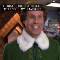 Elf - one of my favorite parts! :)