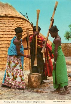 The original John Hinde Collection edition photographs and John Hinde postcards archive African Life, Tribal African, African Culture, African History, African Women, African Tribes, People Around The World, Around The Worlds, Haiti