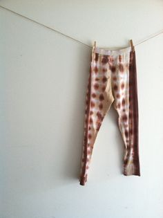Eco fashion thermal leggings long johns tie by WiseSewcialTies, $49.00
