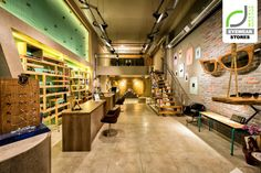 EYEWEAR STORES! Optical shop by Dimensions, Patras – Greece Handmade and Raw #design #retail