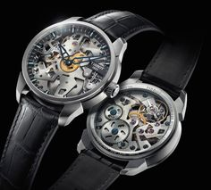 A great photo gallery for those looking for a different designed watches.In this article, skeleton watch designs and style ideas with you. Skeleton watches is remarkable with different designs. Their front and rear panels are transparent.In this way, you can see the inside of watch.