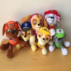 1PCS-Paw-Patrol-Plush-Pup-Pals-8-Skye-ZUMA-ROCKY-Soft-Plush-Toy-Nickelodeon-Dog