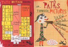 Sara Fanelli - Tate Britain Booklet