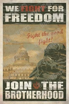 Fallout Brotherhood of Steel Propaganda by TheRetroVideoGamers