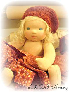 1/2 yard Doll Skin Fabric Cotton interlock waldorf dolls and soft sculpture