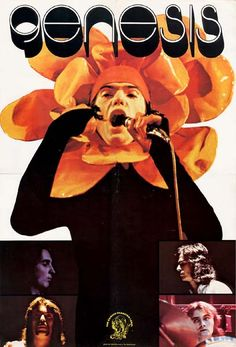 Genesis, very rare promotional poster from Holland