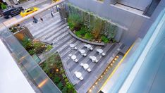 New Yorkers Can Now Enjoy a New Pocket Park 'Oasis' with Waterfall in Midtown