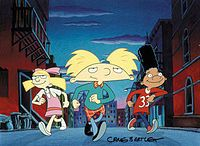 Hey Arnold! - Shown on Nickelodeon in the late 90's