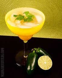 Jalapeno Cilantro Margarita Recipe | Margarita Texas  May have to work this into the next Emilia Cruz mystery novel!