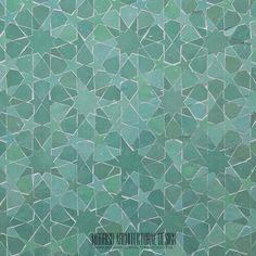 Contemporary Moroccan mosaic tiles - Modern Moorish Tile Patterns