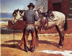 Duane Bryers, Saddle Worn (love the hat)