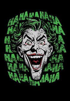 Check out this awesome 'Joker+Hahaha' design on Joker Batman, Batman Joker Wallpaper, Joker Wallpapers, Joker Art, Joker Dark Knight, Der Joker, Joker Und Harley Quinn, Joker Poster, Joker Kunst